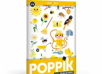 Children's games - Mini Poster JARDIN - 27 STICKERS - POPPIK