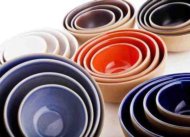 Platter and bowls - Wabi Sabi (Bowls) - CERAMICHE BUCCI SRL