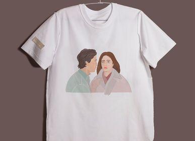 Apparel - Two figures (After Piero della Francesca's Death of Adamo) T-shirt - RECLS ®