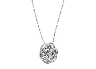 Jewelry - Silver Pendant Necklace - LINEA ITALIA SRL