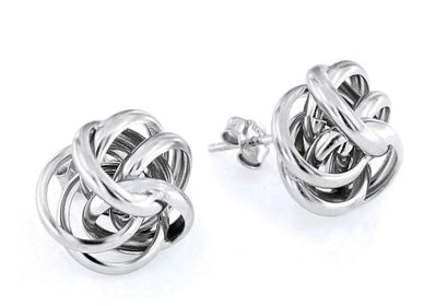 Jewelry - Silver Huggies Earrings - LINEA ITALIA SRL