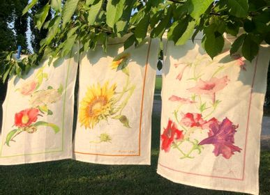 Kitchen linens - BOTANICA KITCHEN TOWELS - NENCIONI CASA  -  TELENE