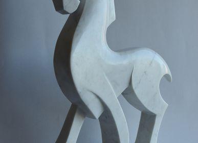 Sculptures, statuettes et miniatures - Cheval Blanc - TODINI SCULTURE