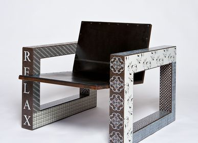 Sièges pour collectivités - RELAX, fauteuil - Serie MAGMA - MADE A MANO - ROSARIO PARRINELLO