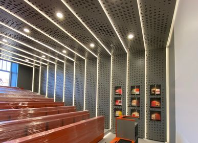 Ceiling moldings - Modern Wooden Ceiling System - KOMLIGNUM