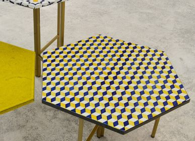Tables basses - Made a Mano - Table hexagonale - MADE A MANO - ROSARIO PARRINELLO