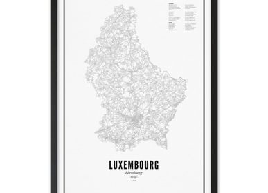 Poster - LUXEMBOURG - WIJCK