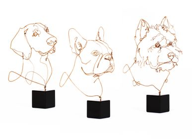 Gifts - Dogs bronze precious collection - PROFILO BY ANDREW VIANELLO