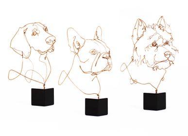 Cadeaux - Collezione preziosa bronzo cani - PROFILO BY ANDREW VIANELLO