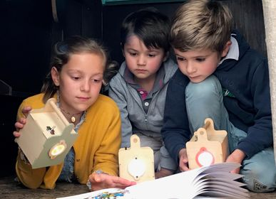 Children's lighting - My explorer lamp, to mount yourself - MANUFACTURE EN FAMILLE