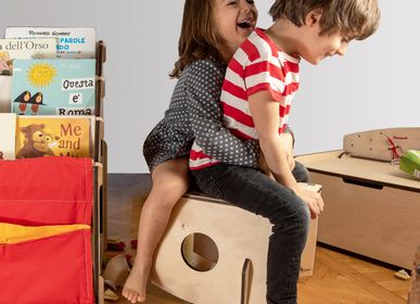 Children's tables and chairs - Dindola, the three in one chair - NINIDESIGN