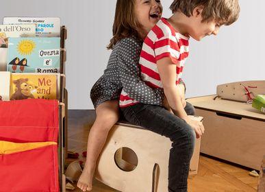 Tables et chaises pour enfant - Dindola, le fauteuil trois en un - NINIDESIGN