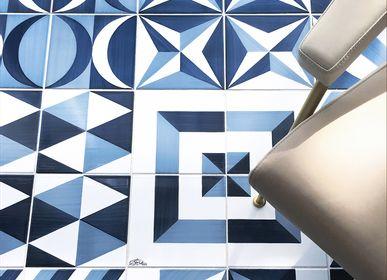 Ceramic - Blu Ponti - CERAMICA FRANCESCO DE MAIO