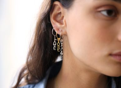 Jewelry - Words Earrings - BORD DE L'EAU