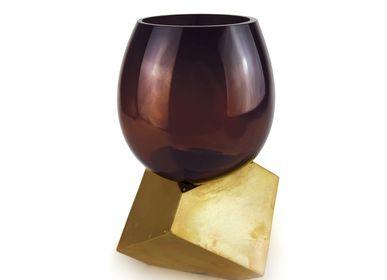 Vases - CUT CUBE vase - VANESSA MITRANI