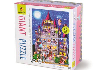 Jouets enfants - Ludattica Puzzles: FÉES et OGRES - Puzzle géant - LUDATTICA