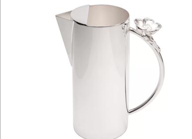 Accessoires thé et café - Broc à eau Flor - ORFEVRERIE ROYALE