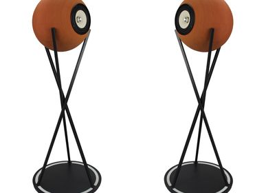 Speakers and radios - Euclidia High – Full range speakers natural terracotta  - DEDALICA
