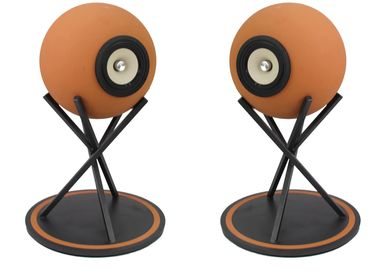 Speakers and radios - Euclidia Low – Full range speakers natural terracotta - DEDALICA