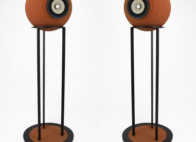 Speakers and radios - Taletia High – Full range speakers natural terracotta - DEDALICA