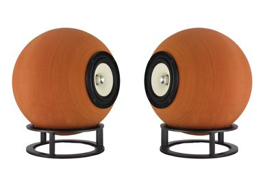 Speakers and radios - Taletia Low – Full range speakers natural terracotta - DEDALICA