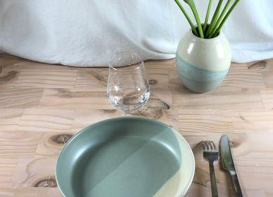 Assiettes au quotidien - Assiette creuse en grès Ø 22 cm - LES POTERIES DE SWANE