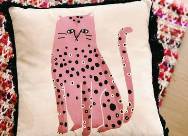 Fabric cushions - FAT CAT cushion - MY FRIEND PACO