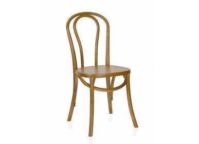 Chairs - ELM WOOD MARGARET CHAIR 40X40X90 MU21522 - ANDREA HOUSE