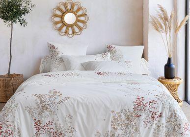 Bed linens - Bed linen percale cotton Mathilde - TRADITION DES VOSGES