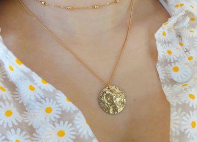 Bijoux - Collier double doré à l'or fin ou argenté (rhodium) - NAO JEWELS