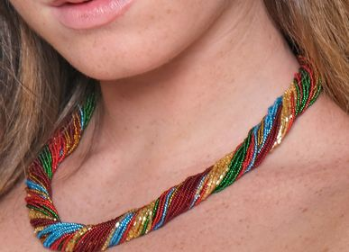 Jewelry - Rainbow Multi-Strand Necklace - LINEA ITALIA SRL