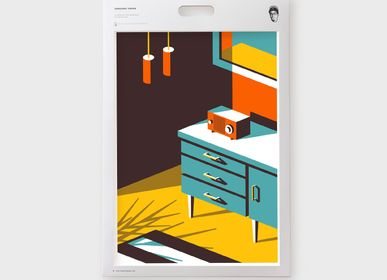 Other wall decoration - Art Print - Design with Jeremy Booth - SERGEANT PAPER