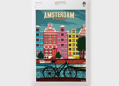 Autres décorations murales - Affiches / Illustrations - L'EUROPE avec Alex Asfour - SERGEANT PAPER