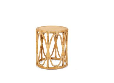 Other tables - RATTAN SIDE TABLE Ø45X45 CM MU21116 - ANDREA HOUSE