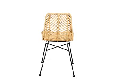 Chairs - RATTAN CHAIR BARLO 47X55X85 CM MU21119 - ANDREA HOUSE