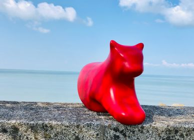 Design objects - Cat Ty Shee Zen Red - TY SHEE ZEN