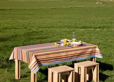 Garden textiles - Outdoor resistant oilcloth fabric - GIRONES