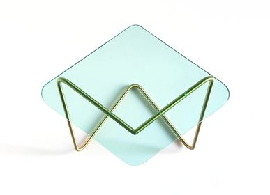 Tables basses - The Diamond Table / Brass - KRAY STUDIO