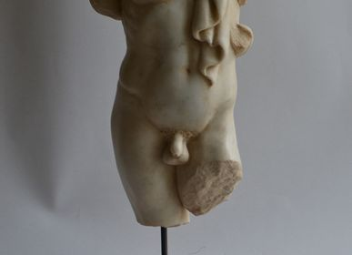 Sculptures, statuettes and miniatures - Male torso with drape - TODINI SCULTURE