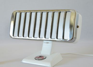 Objets design - luminaire vintage Petit Thermor Blanc Brillant - ARTJL
