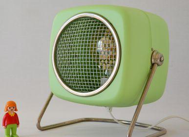 Objets design - Lampe edison design verte Steba Carré - ARTJL