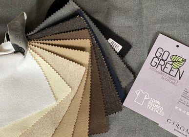 Tissus - GoGreen Tissu - Tissus de coton réutilisés - GIRONES