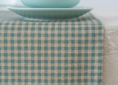 Table linen - Gingham table runners - GIRONES