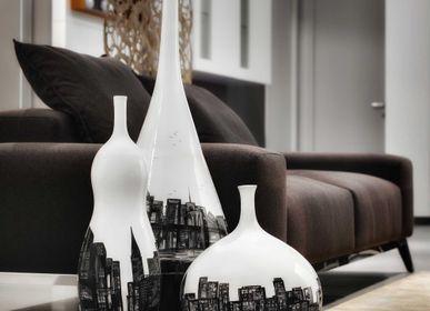 Céramique - Vase bouteille en céramique - ARTEFICE ATELIER