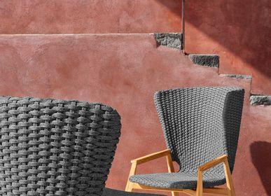 Fauteuils de jardin - Collection Knit, Fauteuil à dossier haut - ETHIMO