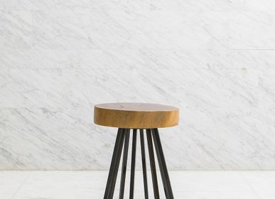 Tables basses - TVLN07 / TABLE BASSE ET TABOURET - 1% DESIGN