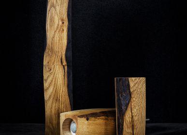 """Unique pieces - Peppermills / Spice grinders  - """"Totem"""" model. - ATELIER PEV"""