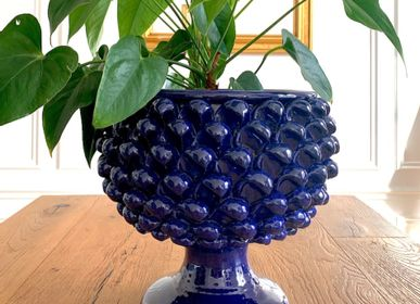 Vases - CERAMIC PINE CONE POT - SICILIAN CRAFT DECORATIONS - MAISON GALA