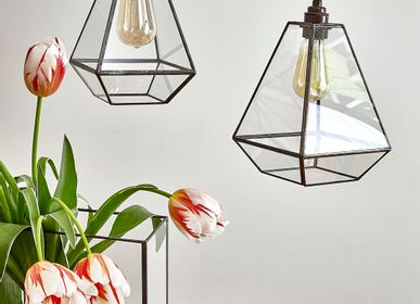 Suspensions - NUDE - Lampes en verre faites main - Lucia - STUDIOSILICE