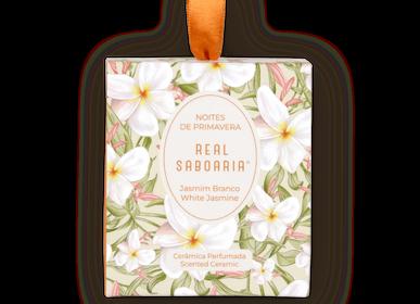 Home fragrances - Noites de Primavera Scented Ceramic - REAL SABOARIA